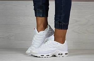 Кроссовки женские,подростковые Nike air max TN,белые, фото 2