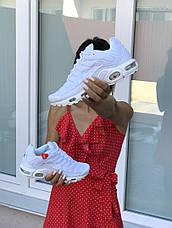 Кроссовки женские,подростковые Nike air max TN,белые, фото 3