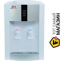 Настольный электронный кулер Cooper&Hunter H1-TEW White - бутылированная вода нагрев + охлаждение воды