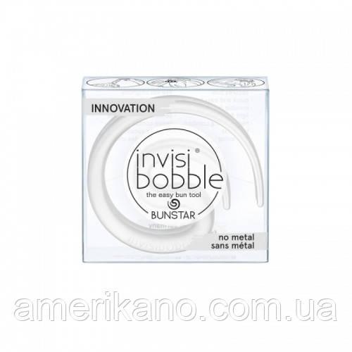 Заколка для волос в пучок Invisibobble Bunstar Ice. Оригинал. В прозрачном. Цена указана за штуку.