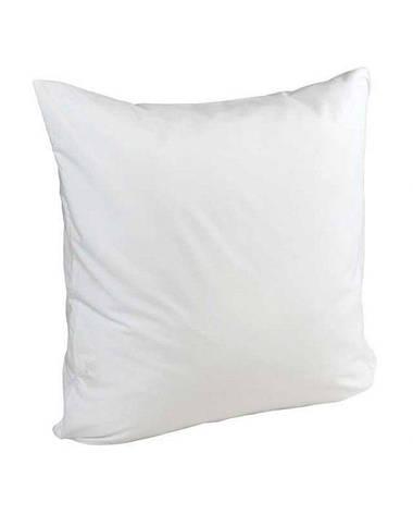Наволочка 70х70 микрофибра белая, фото 2