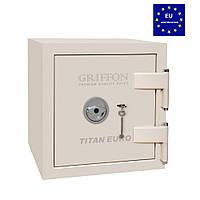 Огневзломостойкий сейф GRIFFON CLE.II.50.K кремовый (Украина)