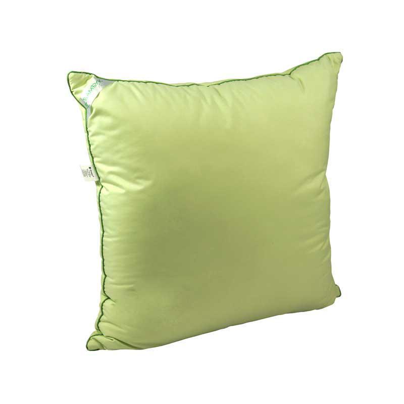 Подушка 70х70 бамбуковая салатовая