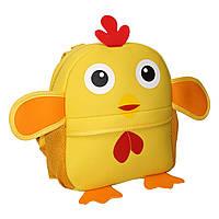 Детский рюкзак Цыпленок желтый