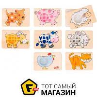 Обучающая игрушка Goki Животные (56818G)