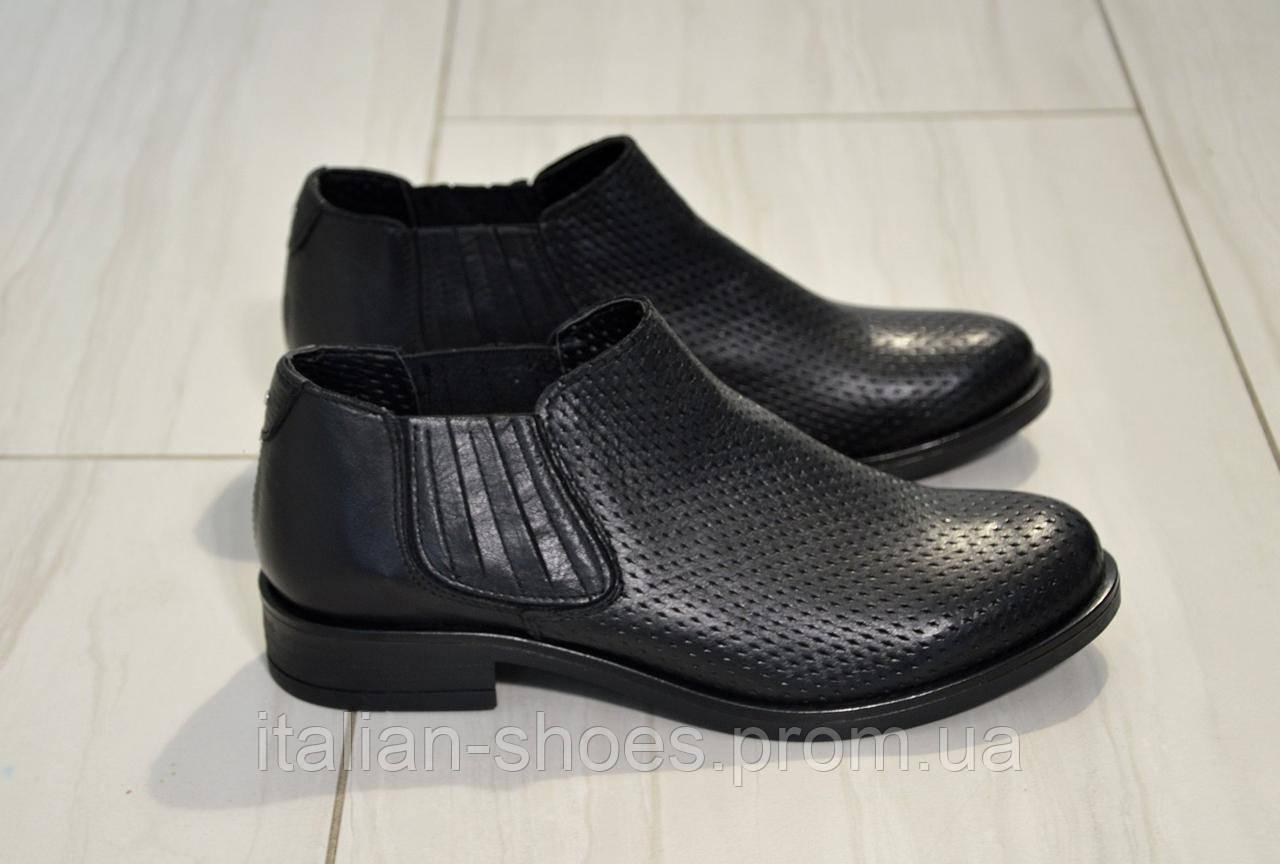 Туфли с перфорацией Donna Italia к. 810