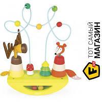 Обучающая игрушка Janod Лось и лиса (J08197)