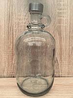 Бутылка с резьбовой пробкой, 2 л, фото 1