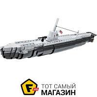 Моделист-конструктор конструктор для мальчиков от 10 лет Вторая Мировая Война - Cobi Подводная лодка SS-238 (COBI-4806)