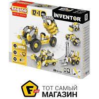 Блочный конструктор для мальчиков от 6 лет inventor - Engino Inventor 12в1. Строительная техника (1234)
