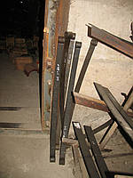 Лист рессоры УАЗ-452 1-й (ширина листа 45мм)  L=1258