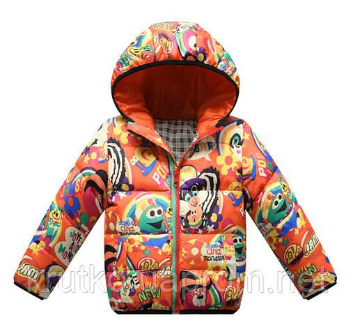 Куртка детская Joyful, оранжевый Berni (100), фото 2