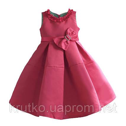 Платье для девочки Бант,  розовый Zoe Flower, фото 2