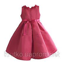 Платье для девочки Бант,  розовый Zoe Flower, фото 3