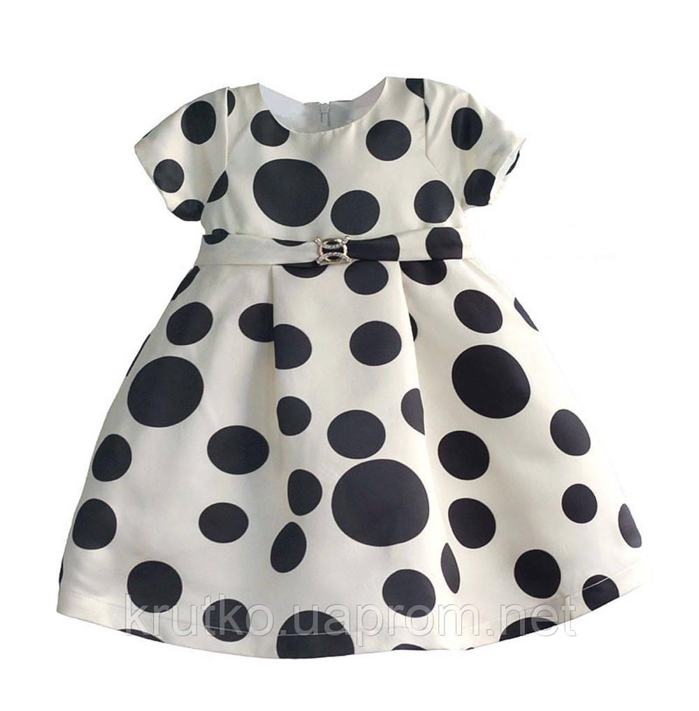 Платье для девочки Горошек Zoe Flower