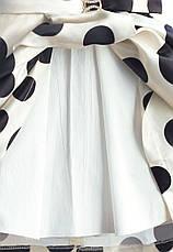 Платье для девочки Горошек Zoe Flower, фото 3