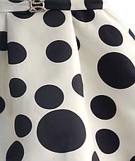 Платье для девочки Горошек Zoe Flower, фото 2