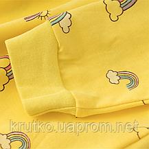 Платье для девочки Радуга, желтый Malwee, фото 2
