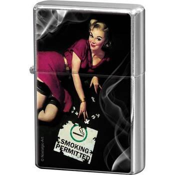 Зажигалка Nostalgic-Art Pin Up - Smoking (80243)