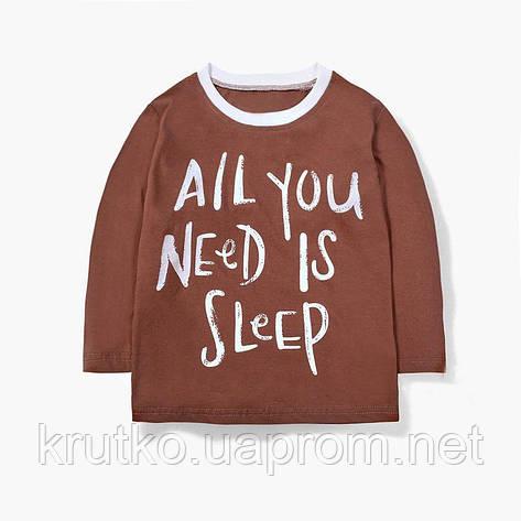 Кофта детская All you need is sleep Malwee, фото 2