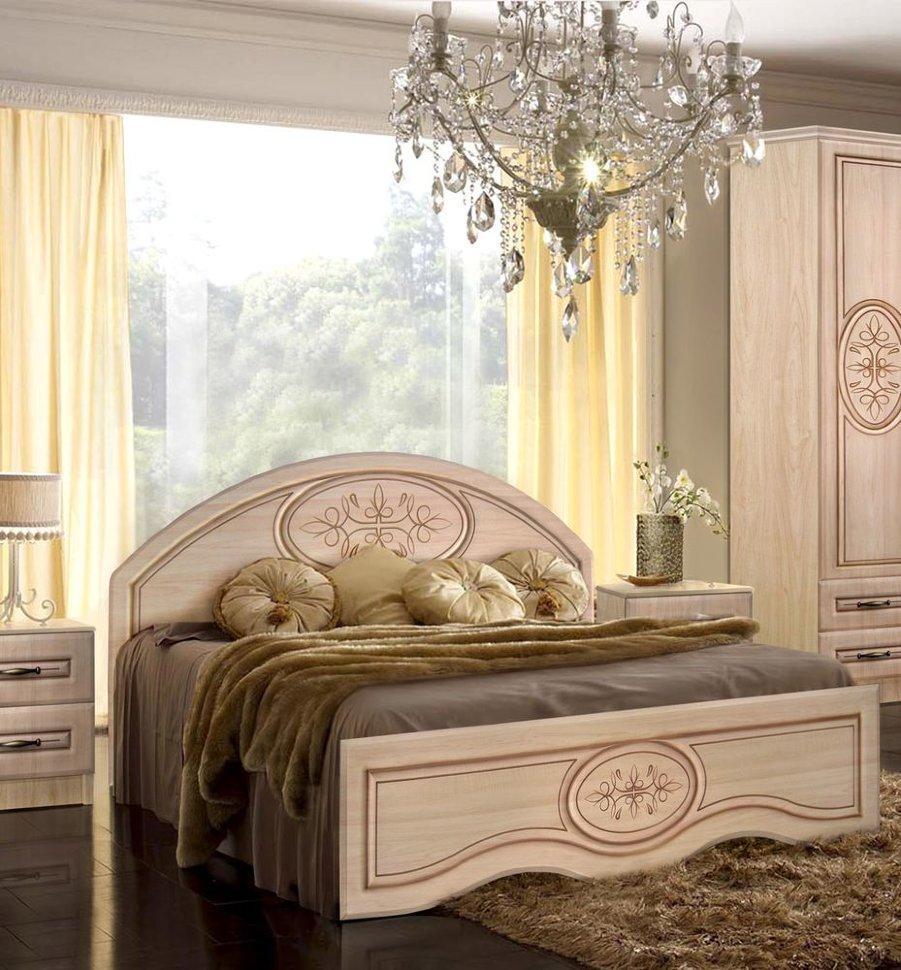 Ліжко без каркасу з низьким ізножьем Василина Майстер Форм