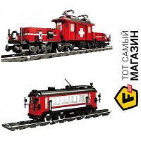 Блочный конструктор для мальчиков от 16 лет - Lepin Поезд Хобби (21011)