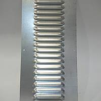 Вентиляционная решетка из оцинкованной стали 140 ммх300 мм