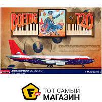 Модель 1:144 самолеты - Roden - Boeing 720 Elton John tour (RN315) пластмасса