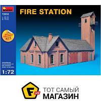 Модель 1:72 - Miniart - Fire Station (MA72032) пластмасса