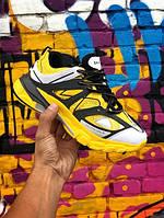 Кроссовки женские Balenciaga Track.Стильные женские кроссовки желтого цвета. , фото 1