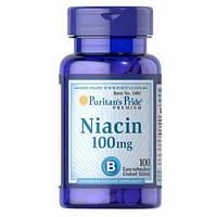 Puritan's Pride Niacin 100 mg- 100 таб