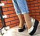 Туфлі жіночі замшеві шкіряні на платформі, фото 7