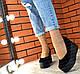 Туфлі жіночі замшеві шкіряні на платформі, фото 8