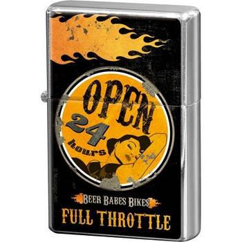Зажигалка Nostalgic-Art Full Throttle - Open 2 (80254)