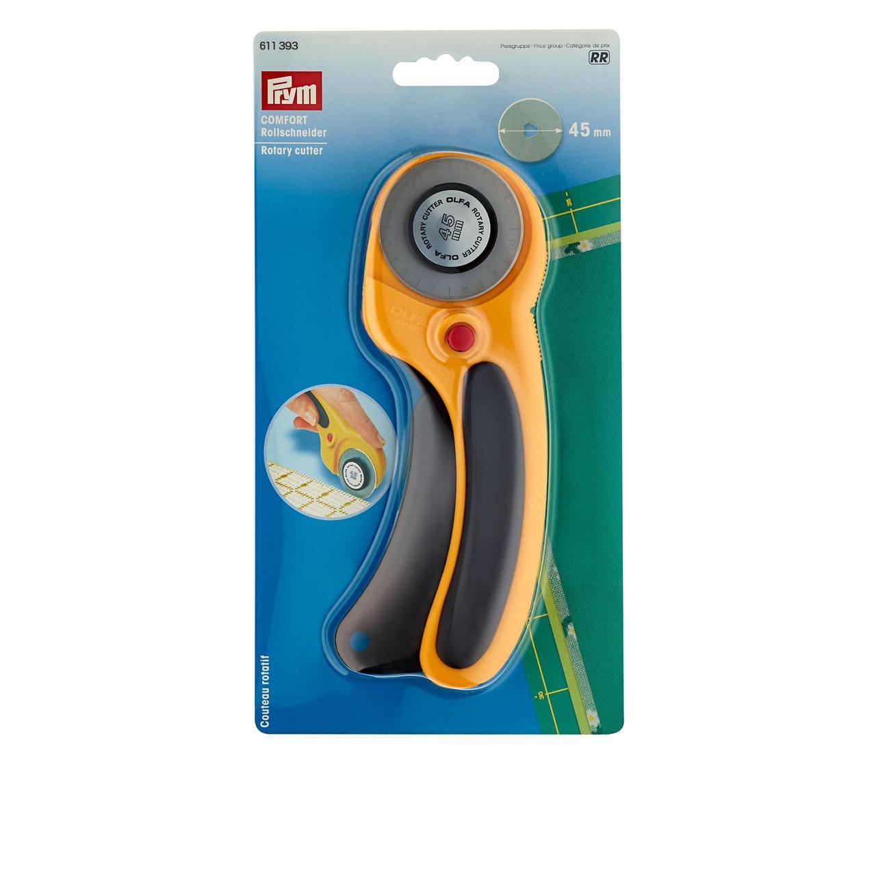 Раскройный нож Prym 611393 «Comfort» 45 мм