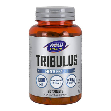 Трибулус Tribulus NOW 1000 mg 90 caps, фото 2
