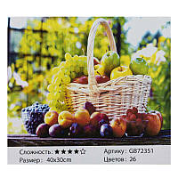 Алмазная мозаика GB 72351 (30) 40х30, 26 цветов, в коробке