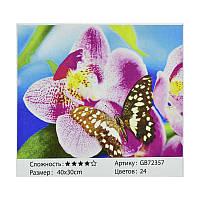 Алмазная мозаика GB 72357 (30) в коробке 40х30, 24 цвета