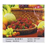 Алмазная мозаика GB 72387 (30) 40х30, 20 цветов, в коробке