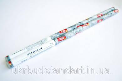 Электроды по чугуну ЦЧ-4 ТМ MONOLITH ф 3 мм (мини-тубус 3 шт)  (для сварки чугуна)
