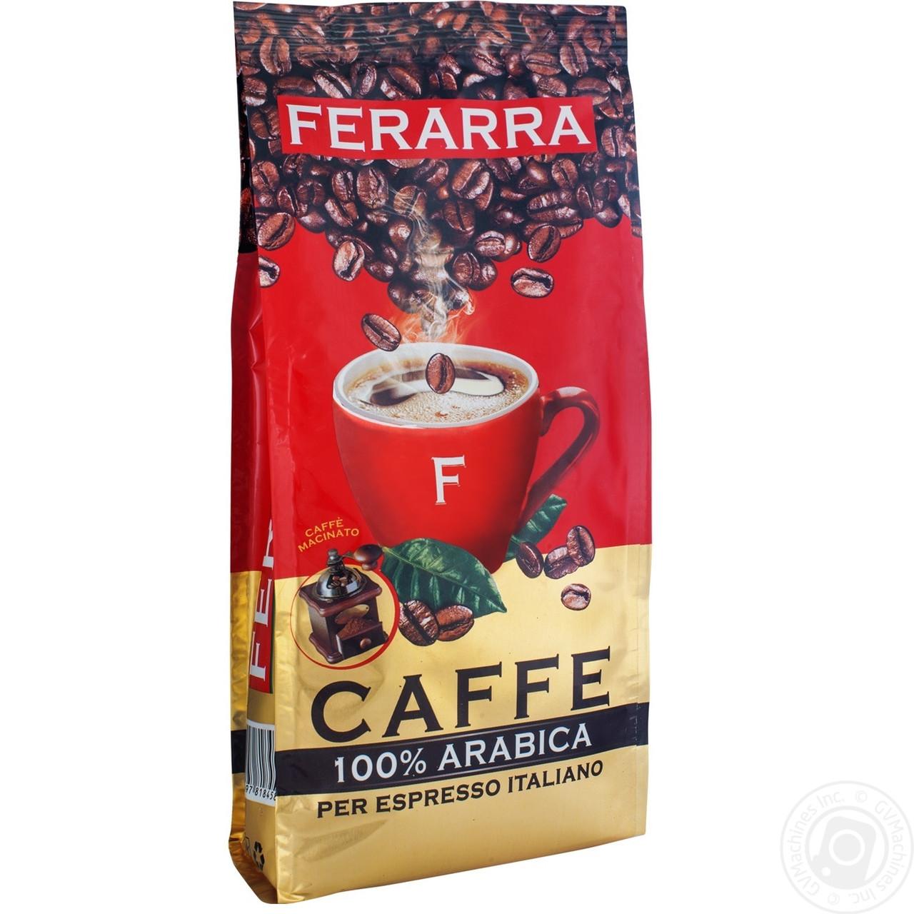 Кофе в зернах Ferarra Caffe 100% Arabica 200 г