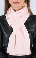 Красивый женский вязаный шарф S-1 цвет роуз