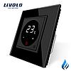 Терморегулятор Livolo для котлов отопления черный (VL-C701TM3-12)
