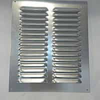Вентиляционная решетка из оцинкованной стали 210 ммх250 мм