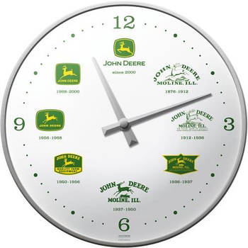 Настенные часы Nostalgic-art John Deere Since 187 (51029)
