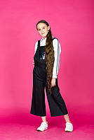 Школьные брюки для девочки Школьная форма для девочек VIANI Украина 179p Черный Школа, Пайетки, Однотонные модели, Полномерит, Для всех видов фигур, Праздник: 1 Сентября, Последний звонок, 170 см, 146-152
