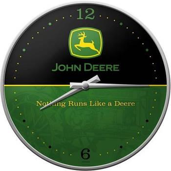 Настенные часы Nostalgic-art John Deere Logo (51030)