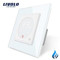 Терморегулятор Livolo для котлів опалення колір білий (VL-C701TM3-11)