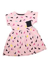 """Платье  детское """"Pinky"""" для девочек на 1 и 2 года Турция Сарафан"""