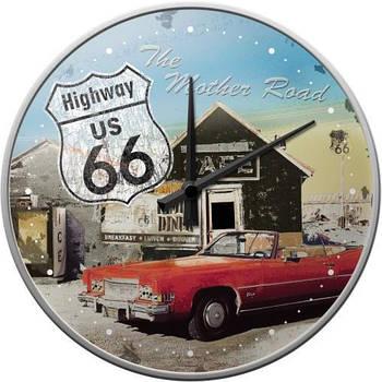 Настенные часы Nostalgic-art Highway 66 The Mother (51033)